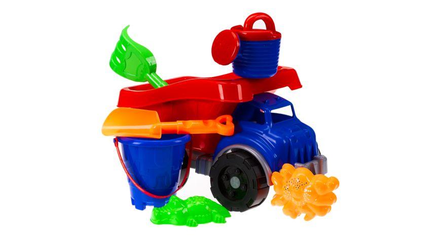 Müller - Toy Place - Sandset mit Truck, 7-teilig