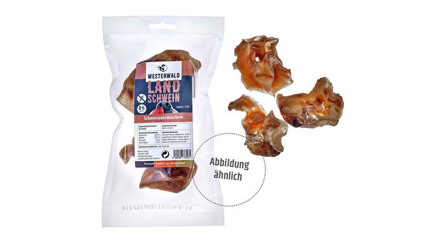 WESTERWALD BEUTE Schweineohrmuscheln Snack vom Landschwein 250g