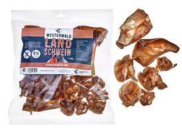 WESTERWALD BEUTE Schweineohren Mix Snack vom Landschwein 400g