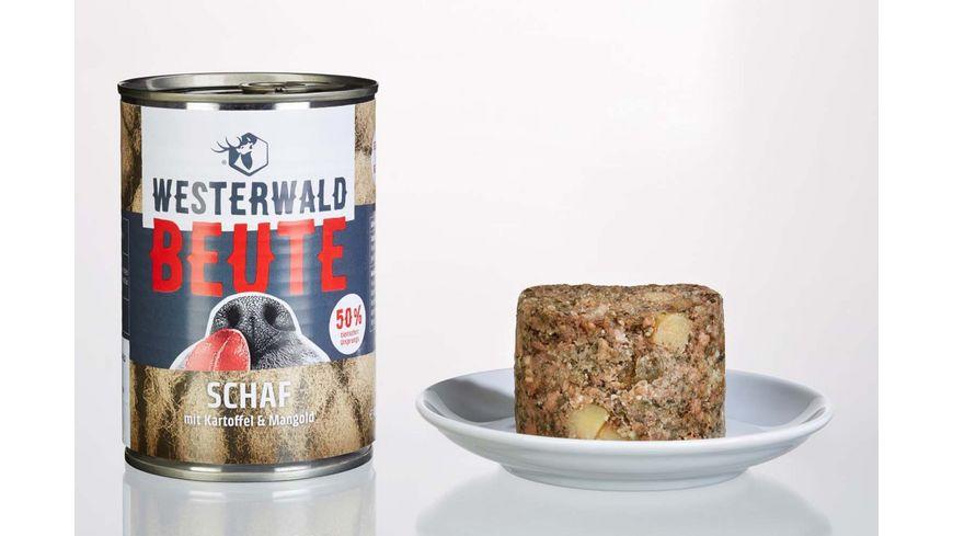WESTERWALD BEUTE Schaf mit Kartoffel Mangold 400g Dose