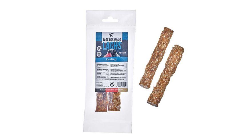 WESTERWALD BEUTE Lachskaustange Snack vom Lachs 2 Stueck