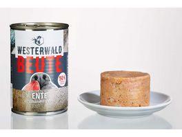 WESTERWALD BEUTE Ente mit Suesskartoffeln Aprikose 400g Dose