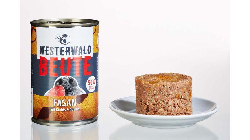 WESTERWALD BEUTE Fasan mit Kuerbis Quinoa 400g Dose