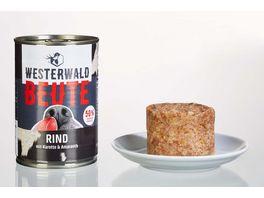 WESTERWALD BEUTE Rind mit Karotte Amaranth 400g Dose