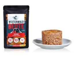 WESTERWALD BEUTE Fasan mit Kuerbis Quinoa 150g Beutel