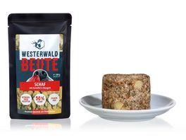 WESTERWALD BEUTE Schaf mit Kartoffel Mangold 150g Beutel