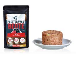 WESTERWALD BEUTE Reh mit Sellerie Birne 150g Beutel