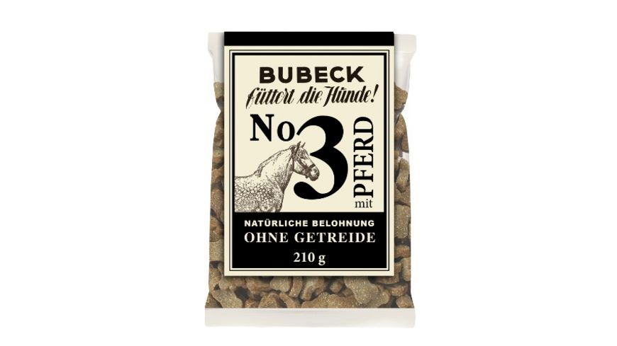 Bubeck Hundekuchen No.3 mit Pferd