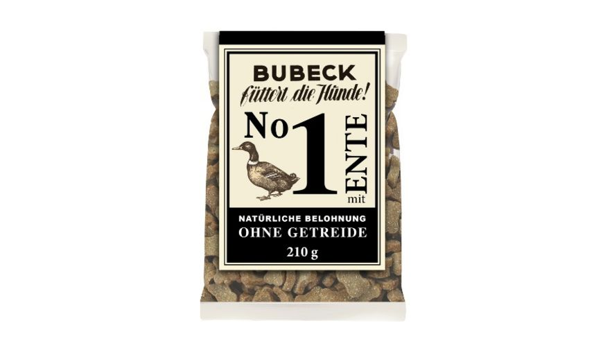 Bubeck Hundekuchen No 1 mit Ente