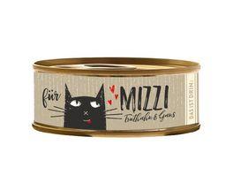 Mizzi Nassfutter fuer Katzen mit Truthahn und Gans
