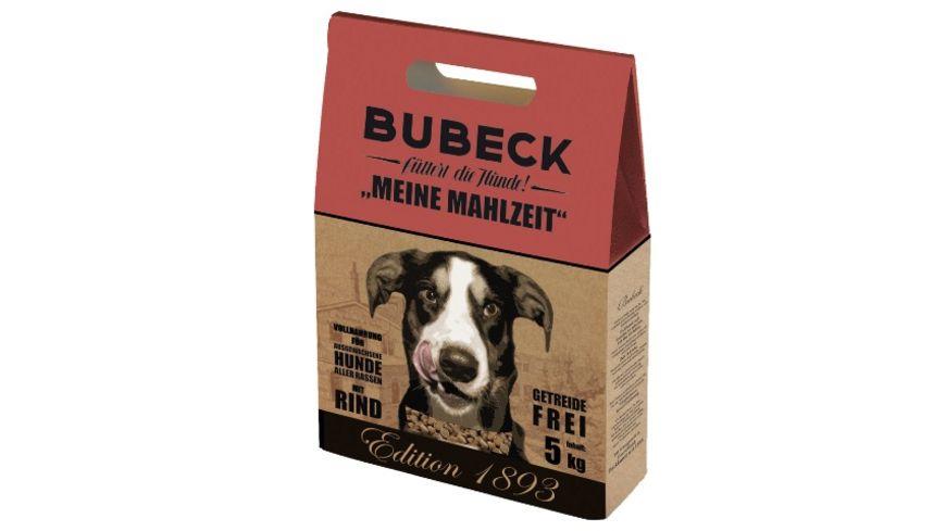 Bubeck gebackene Vollnahrung MEINE MAHLZEIT mit Rind 5 kg