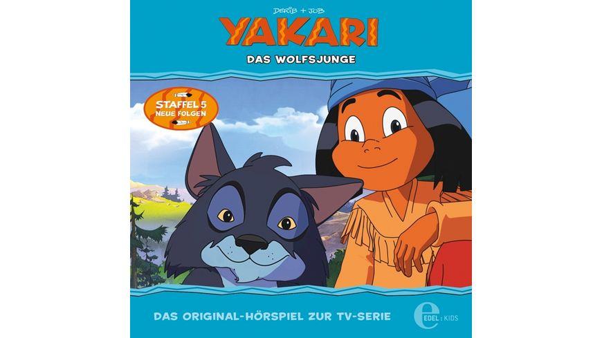Yakari 35 Hoerspiel z TV Serie Das Wolfsjunge