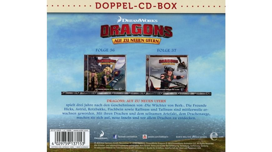 Dragons Doppel Box Folgen 36 37