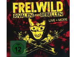 Rivalen Und Rebellen Live More 2CD DVD Digipak
