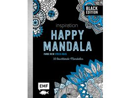 Black Edition Inspiration Happy Mandala