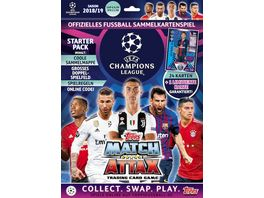 Topps UEFA Champions League Match Attax 2018 19 Starterpack