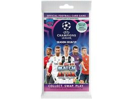 Topps UEFA Champions League Match Attax 2018 19 Blisterpack