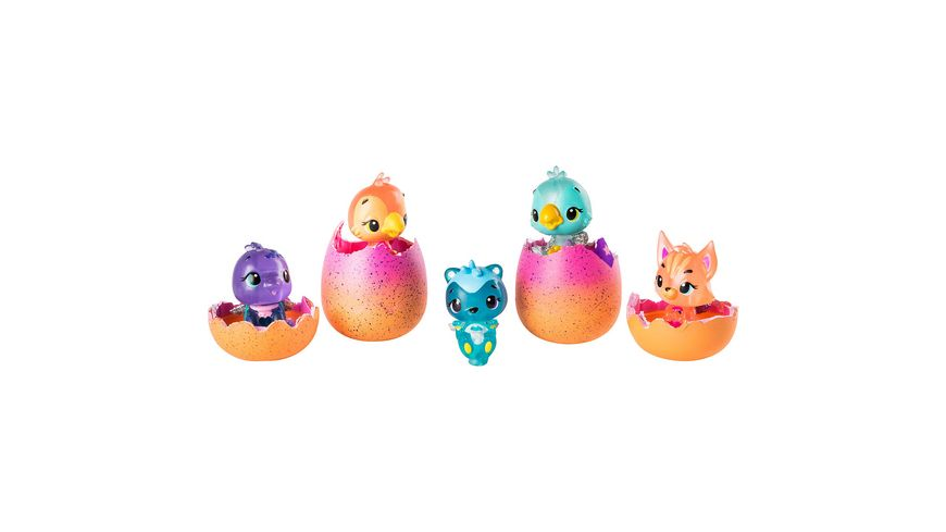 Spin Master Hatchimals CollEGGtibles 4er Pack