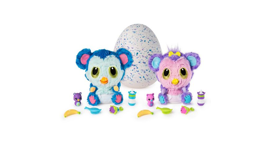 Spin Master Hatchimals HatchiBabies Monkiwi