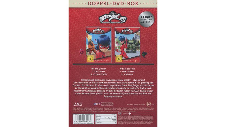 Miraculous 7 8 Geschichten von Ladybug und Cat Noir Die DVD zur TV Serie 2 DVDs