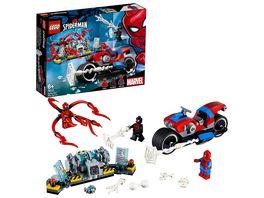 LEGO Marvel Super Heroes 76113 Spider Man Motorradrettung