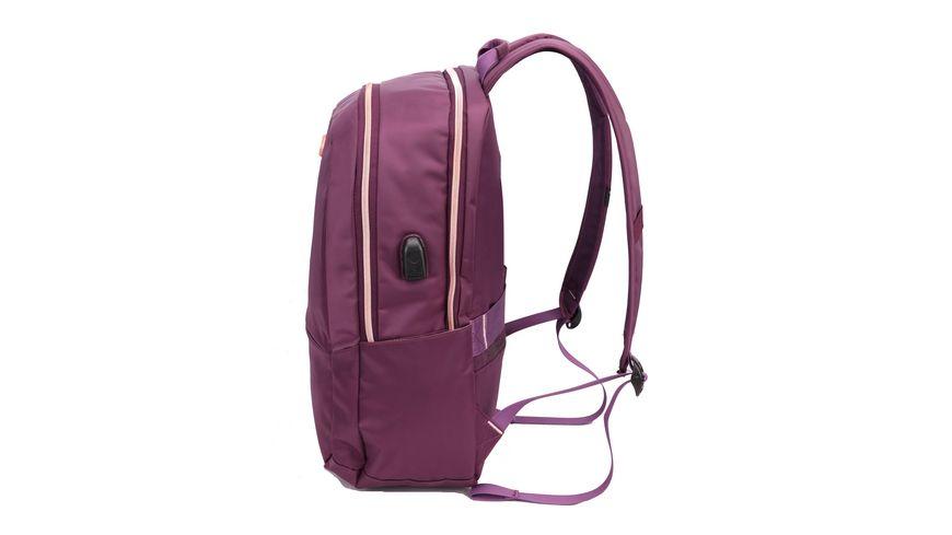 SWISSDIGITAL Rucksacl EFFECTIVE purpur