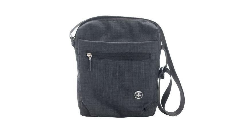 SWISSDIGITAL City Bag Umhaengetasche schwarz