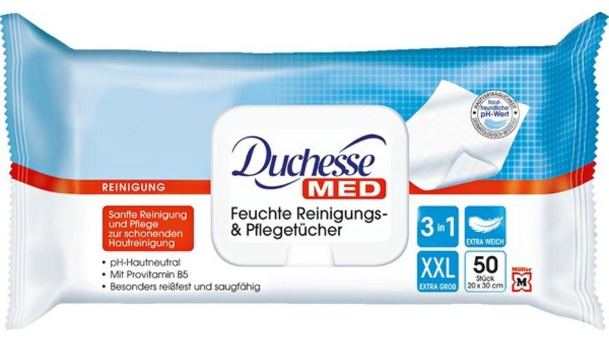 Duchesse Med feuchte Reinigungs Pflegetuecher