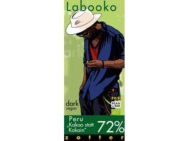 Labooko 72 Peru Kakao statt Kokain