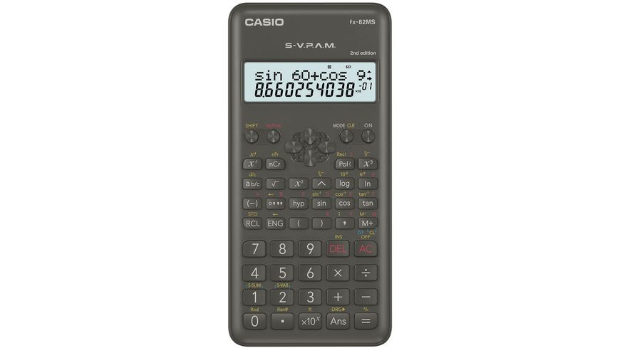 CASIO Taschenrechner FX 82 MS 2
