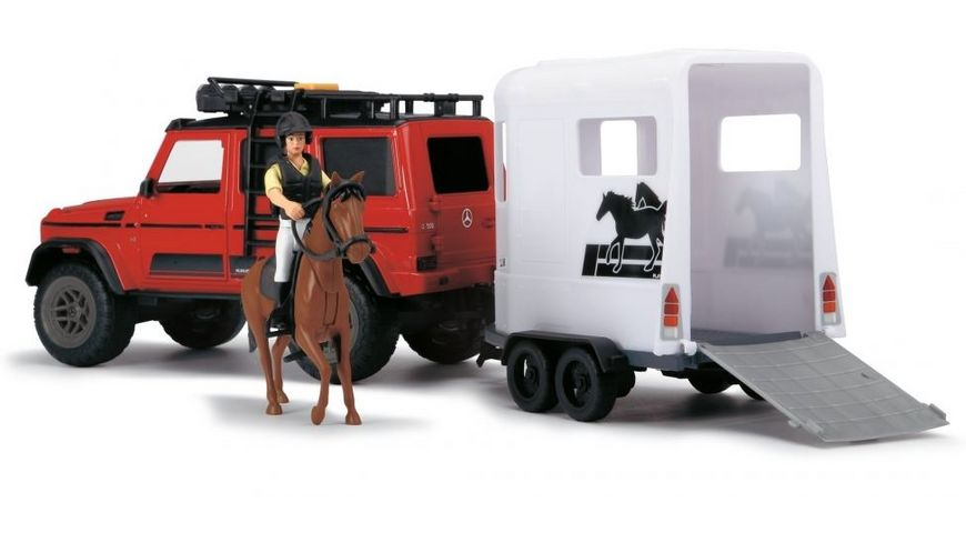 Dickie Toys Playlife Horse Trailer Set