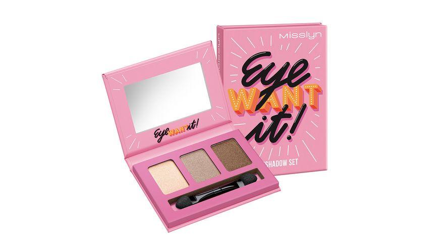 Misslyn Eye Want It! Eyeshadow Set