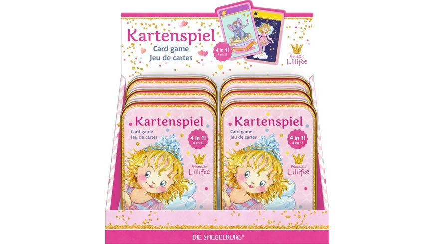 Die Spiegelburg Kartenspiel 4 in 1 Prinzessin Lillifee