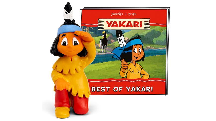 tonies Hoerfigur fuer die Toniebox Yakari Best of Yakari