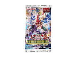 Yu Gi Oh Sammelkartenspiel Hidden Summoners Boosterpack 5 Karten