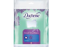 Duchesse Einmal Waschlappen 50 Stueck