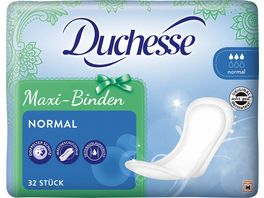 Duchesse Maxi Binden Normal 32 Stueck