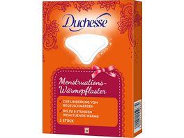 Duchesse Menstruations Waermepflaster 2 Stueck