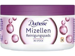 Duchesse Reinigungspads mit Mizellen Lotion 36 Stueck