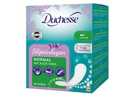 Duchesse Slipeinlagen Normal Aloe 50 Stueck