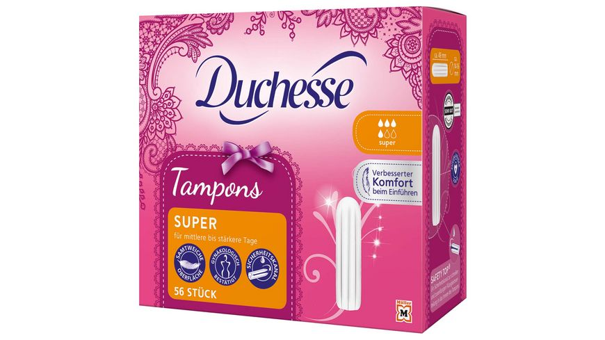 Duchesse Tampons Super 56 Stueck