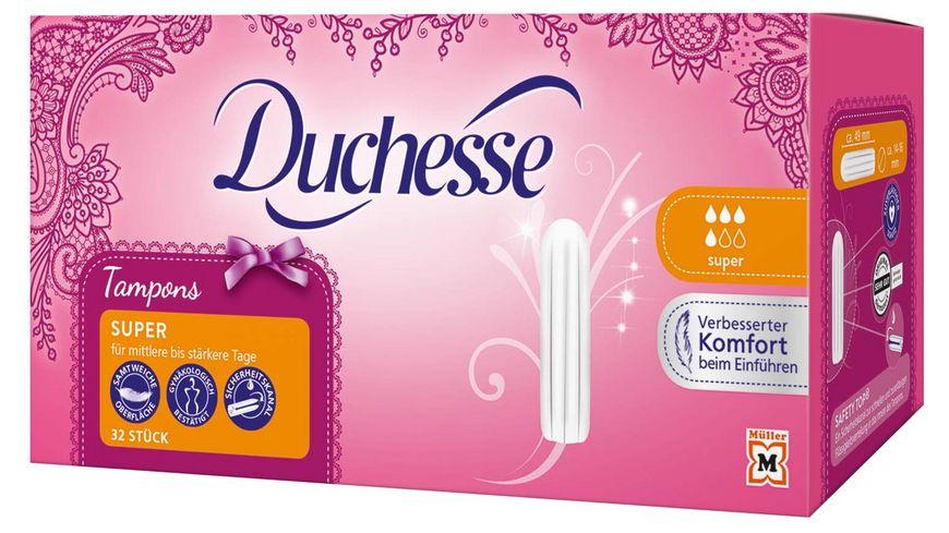 Duchesse Tampons Super 32 Stueck