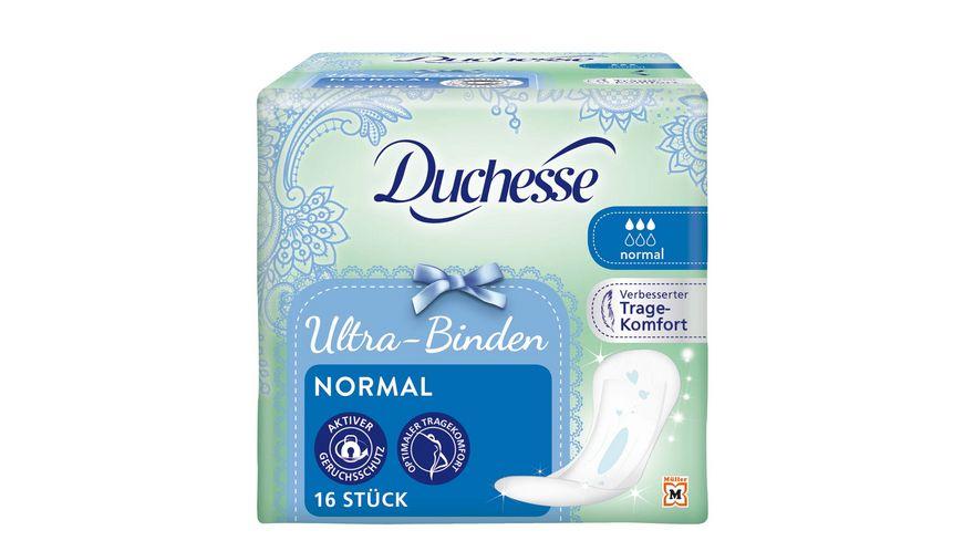 Duchesse Ultra Binden Normal 16 Stueck