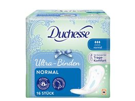 Duchesse Ultra Binden Normal 16 Stueck