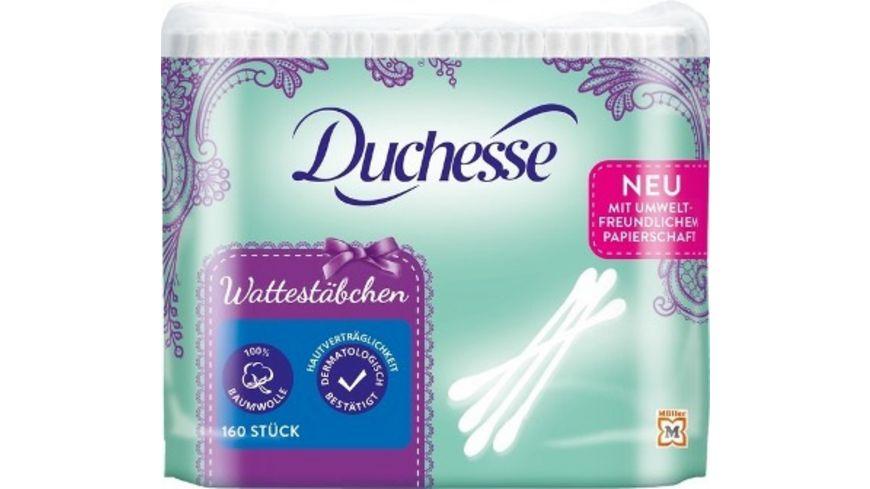 Duchesse Wattestaebchen Nachfuellpack 160 Stueck