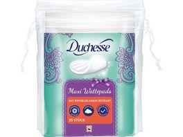 Duchesse Wattepads Maxi mit Ringelblume 35 Stueck