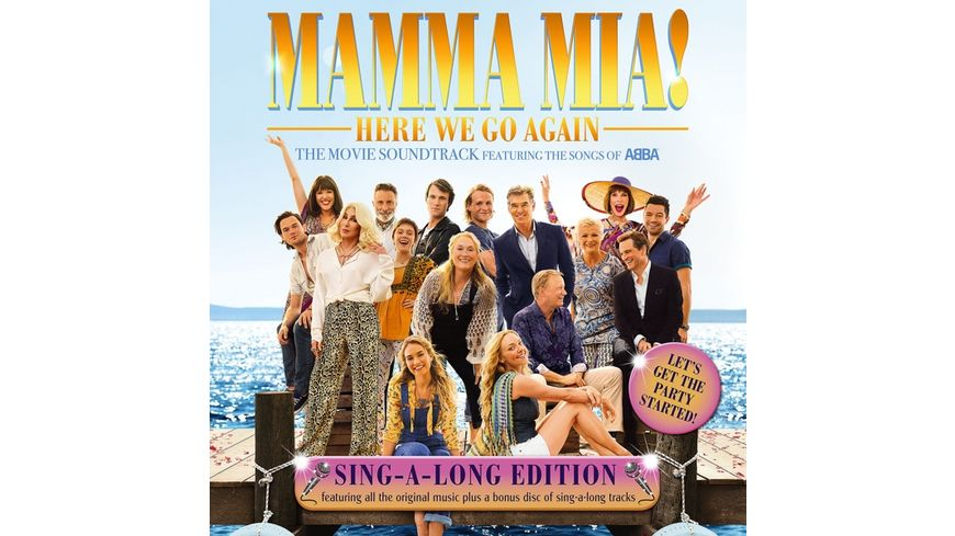 Mamma Mia Here We Go Again Singalong Version