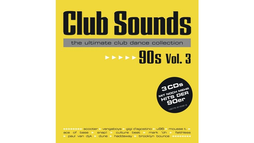 Club Sounds 90s Vol 3