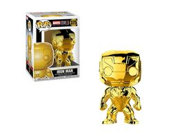 Funko POP Marvel Iron Man Chrome Venyl Figur