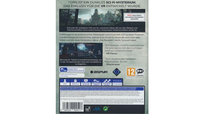 Torn PlayStation VR